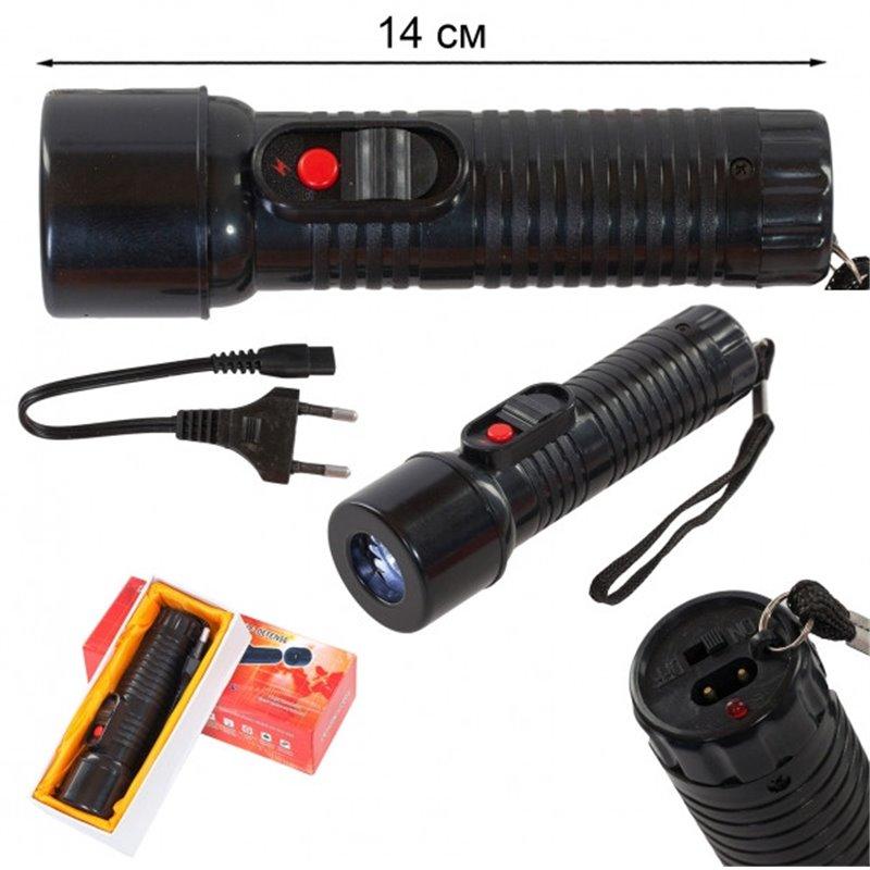 Отпугиватель собак-шокер с фонариком FT-959