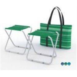 Набор стульев скл. ZAGOROD 2 шт. в чехле N202 classic green