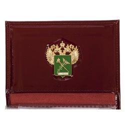 Портмоне-обложка на Удостоверение «Таможенная служба» с жетоном