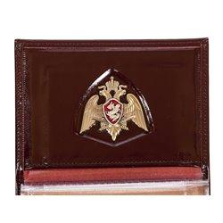 Портмоне-обложка на Удостоверение «Росгвардия» с жетоном