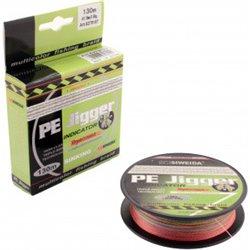 Леска плетеная SWD PE Jigger Indicator 0.30 130м multicolor