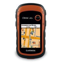 Навигатор Garmin GPS eTrex 20x GPS, GLONASS Russia