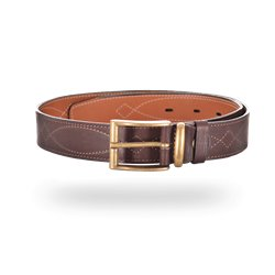 Ремень ХСН брючный коричневый 40мм №4, 363