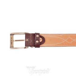 Ремень ХСН поясной коричневый 35 мм №4, 362