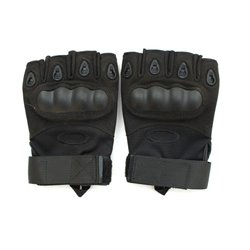 Перчатки тактические Oakley беспалые black