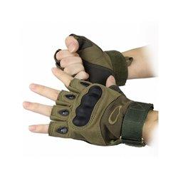 Перчатки тактические Oakley oliv беспалые