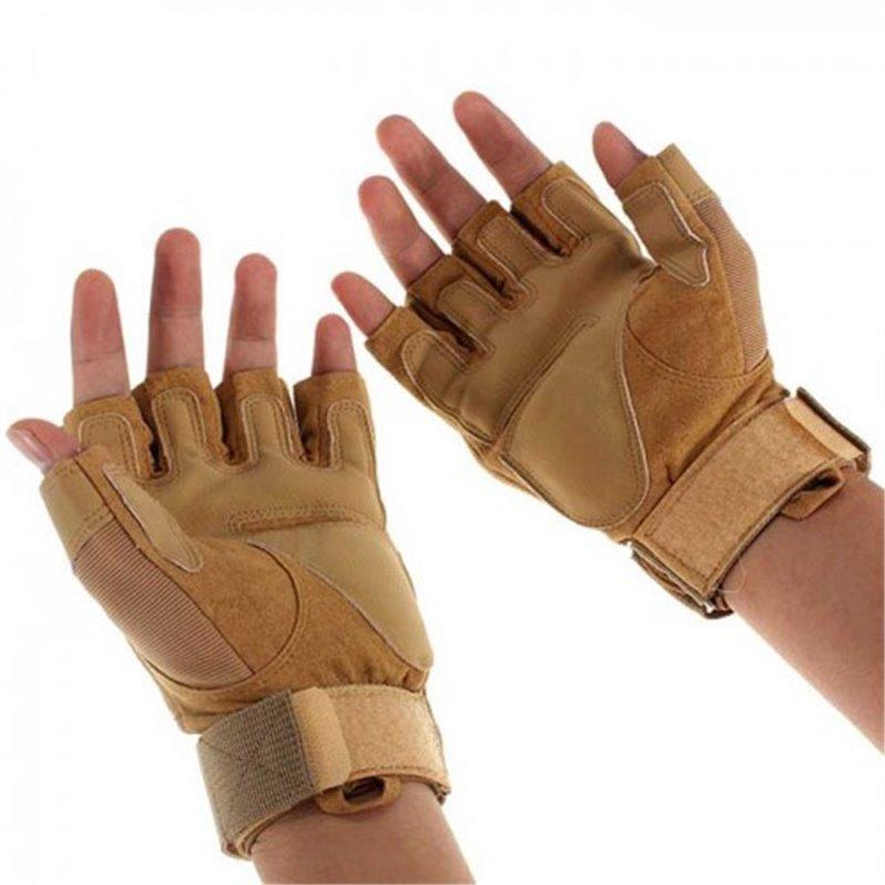 Перчатки тактические Oakley беспалые coyotbrawn