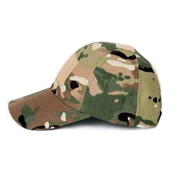 КЕПКА Army Military with Velcro Patch MULTICAM AS-UF0013CP