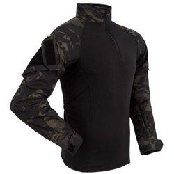 Рубаха боевая Гюрза черный мультикам