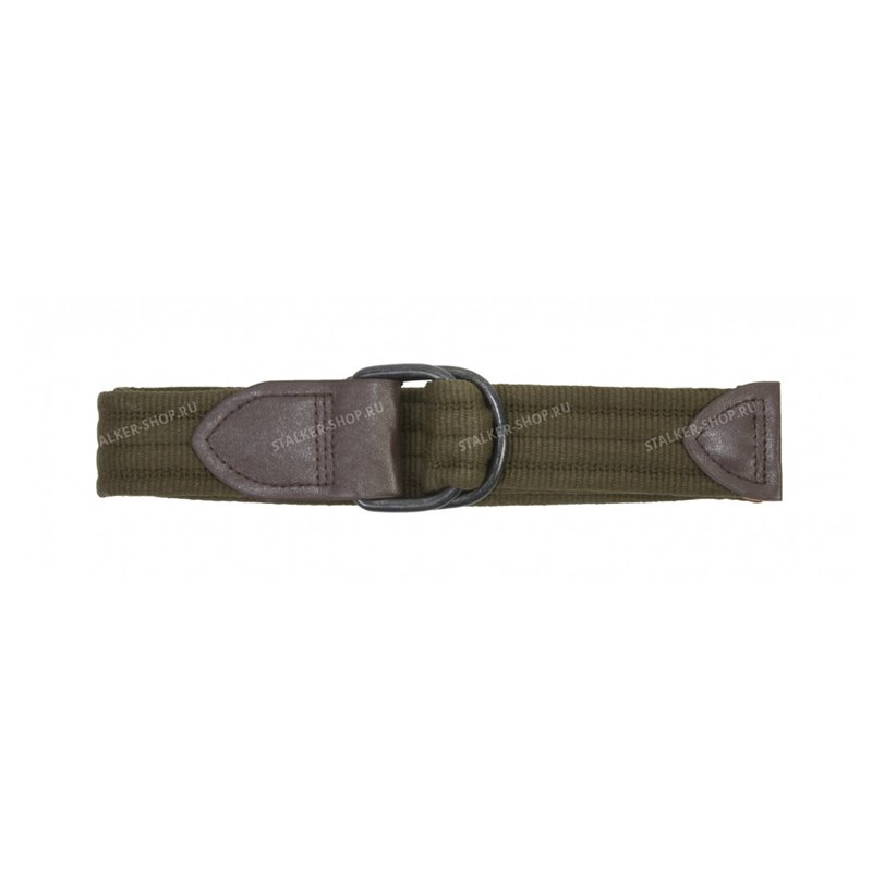 Ремень брючный МИЛИТАРИ, olive 120, rep-385olive