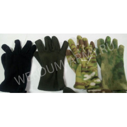 Перчатки флисовые ВЕРДУМ черн