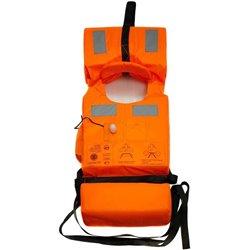 Жилет спасательный Хомут взрослый с огнем поиска оранжевый Oxford